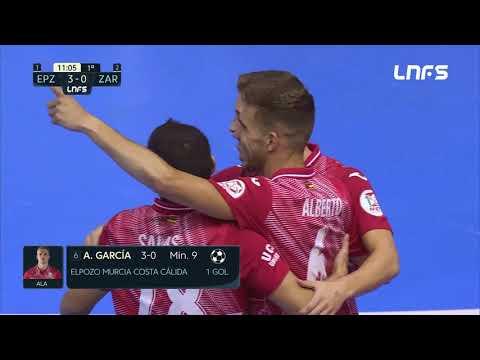 ElPozo Murcia Costa Calida -  Futbol Emotion Zaragoza Jornada 19 Temp 20 21