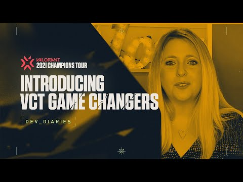 VCT Game Changers - VALORANTのサムネイル