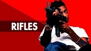 """RIFLES"" Dark Trap Beat Instrumental 2018   Hard Lit Rap Hiphop Freestyle Trap Type Beats   Free DL"