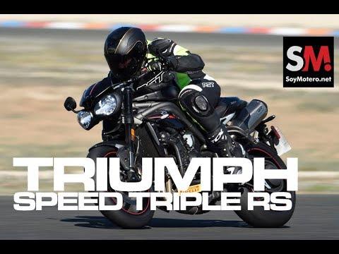 Triumph Speed Triple RS 2018: Prueba Moto Naked [FULLHD]