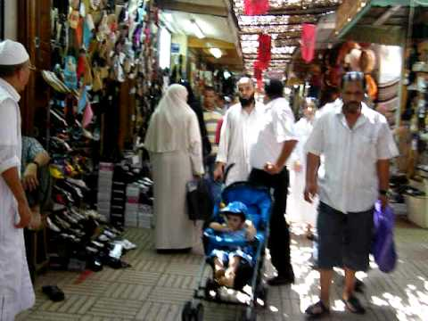 Morocco's traditional market