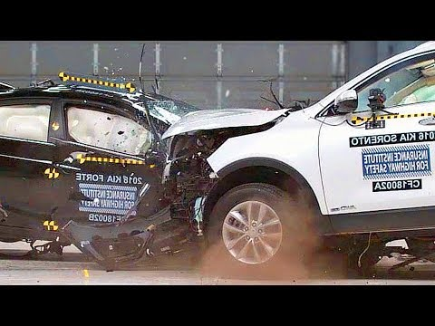 Small Car vs. Large Car ? CRASH TEST