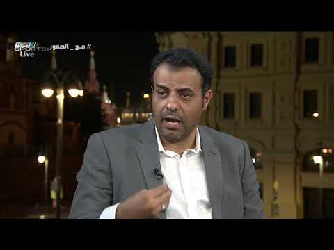 حسين الشريف - الإعلام السعودي يقدر ويحترم تونس كأشقاء عرب ولن ننزلق إن أخطأ البعض منهم #المونديال