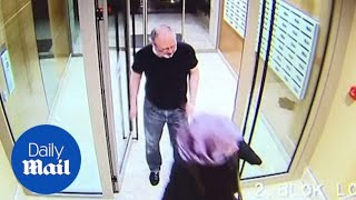 CCTV shows Khashoggi with his fiancee hours before he was killed