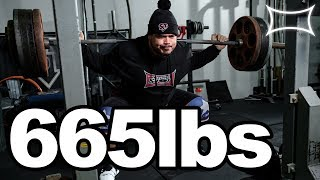 "AMRAP with 665 Heavy Ass Pounds! Ft. Marcus ""Filipinothunder"" Sannadan"
