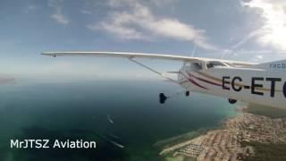 Volamos a Menorca | Timelapse | Cessna C172N