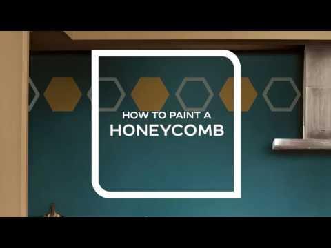 Sådan maler du Honeycomb
