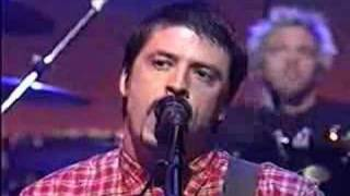 Foo Fighters & Jack Black  - The One (Live Letterman Show)