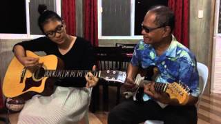 El Reloj Feat. GrandpaMaestro ( Cover on Dindi's Way: How to interrupt your guitar lesson?)