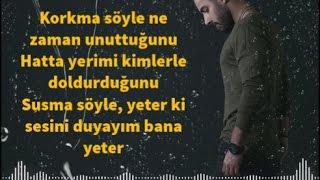 Sancak   Korkma Söyle Şarkı Sözleri LYRİCS KAREOKE