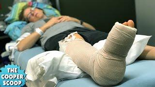 I Broke My Leg At SeaWorld!