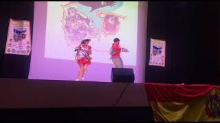 Segundo concurso de la danza Salay en Madrid  / 3er lugar en categoría pareja