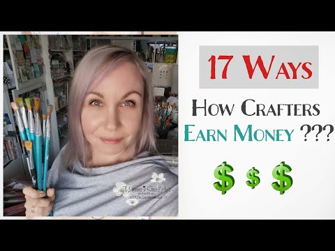 Becoming a Full-Time Artist ?!? 🎨 17 Ways to Earn Money from Crafting ♡ Maremi's Small Art ♡