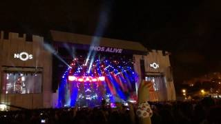 The Weeknd - Can't Feel My Face (Live at NOS Alive 2017)