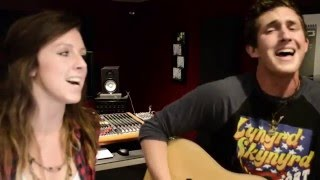 HOME ALONE TONIGHT - Luke Bryan Cover by Chris Scott (Feat: Amy Schmidt)