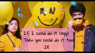 Ranz and Niana   You can do it Lyrics Video