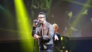 "Chawki - It's My Life (C'est Ma Vie) ft Dr. Alban @ ""100%Live"""