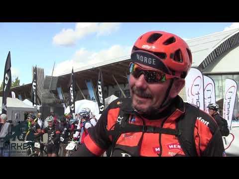 Birken Sykkelfestival 2018: Mange fornøyde birkebeinere i målområdet ved Håkons Hall