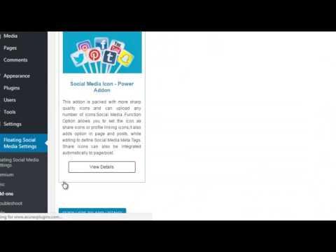 Acurax Social Media Power Addon Wordpress Plugin - Ordering - Installation - Activation