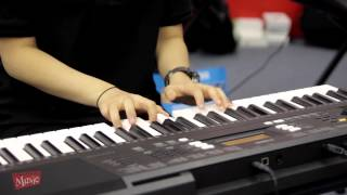 Yamaha PSR-E343 Demo