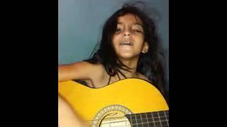 Amabily cantando como Zaqueu eu quero subir