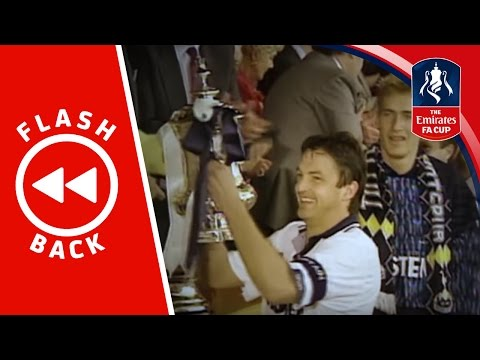 Gary Mabbutt relives Tottenham's 1991 FA Cup victory | Flashback