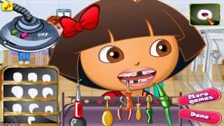 ღ Dora At The Dentist Game For Little Baby Girls ღ