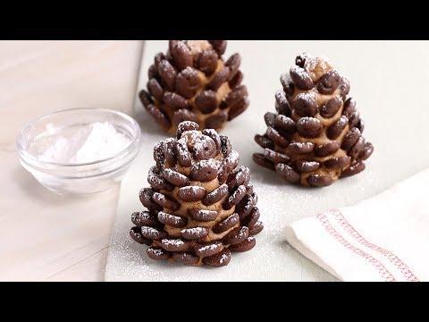 Snowy Pinecone Cookies