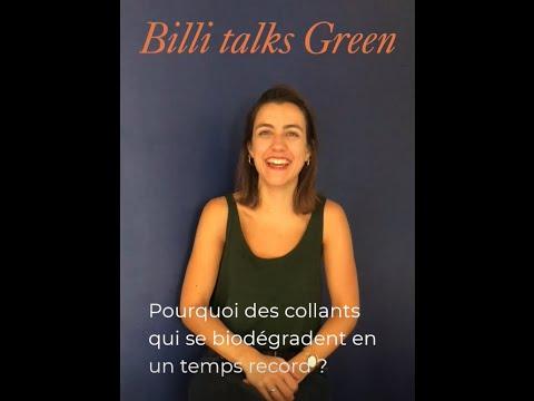 Billi talks green