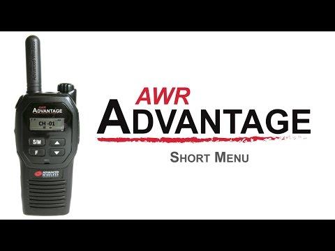 AWR Advantage Menu