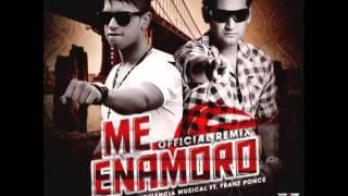 "Me Enamoro ""REMIX""- Monty La Excelencia Musical Ft Franz Ponce (Original) ""REGGAETON ROMANTICO 2013"""