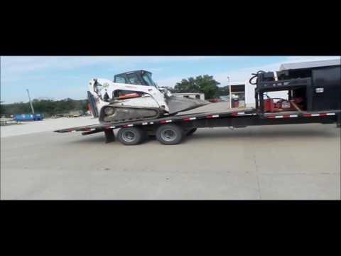 2012 Delta tilt deck equipment trailer for sale | no-reserve Internet auction October 13, 2016