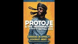 Protoje - Resist Not Evil @ Vooruit Gent 2017