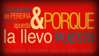 Pereira La Llevo Puesta - Alkilados / (Video Lyrics)