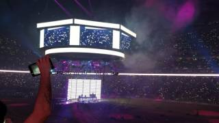Chainsmokers Live @ Houston Rodeo 2017 - Yellow, Don't Let Me Down - 2.22