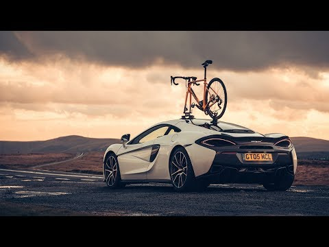 McLaren 570GT vs Specialized Roubaix: testing tyres to the limit
