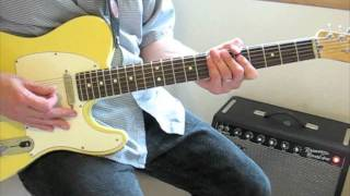 Guitar Lesson: Lodi, CCR (Fogerty Leads)