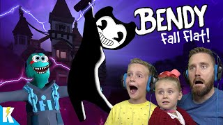 BENDY FALL FLAT 2! Waking the Monster (HUMAN FALL FLAT Gameplay) KIDCITY GAMING