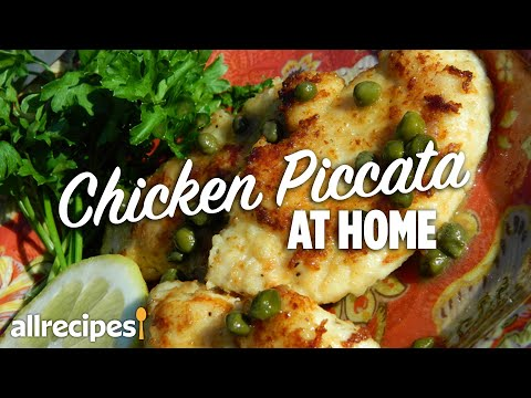 How to Make Chicken Piccata #WithMe | At Home Recipes | Allrecipes.com