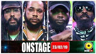 Squash, Chronic Law, Spragga Benz, Protoje - Onstage February 23 2019 (Full Show)
