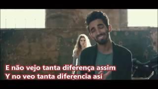 Paulo Sousa -  Não Vás Sem Mim letra traducida