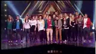 Zajednička pesma (Za milion godina) - X Factor Adria - LIVE 1