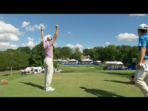 Peter Malnati?s spectacular ace on No. 16 at Wyndham