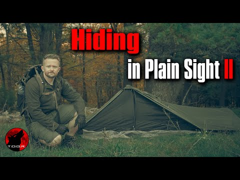 No One Can See Me - Solo Stealth Camp Adventure