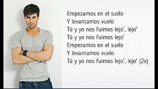 Descemer Bueno, Enrique Iglesias - Nos Fuimos Lejos ft. El Micha - Lyrics / Letra