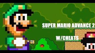 Super Mario World GBA W/cheats