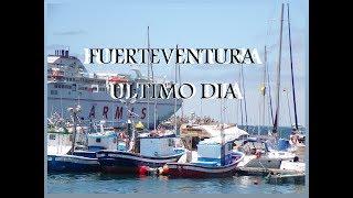 Fuerteventura día 3, veo una manta-raya y pa casa