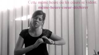 CHANSON LSF- Louane-Maman