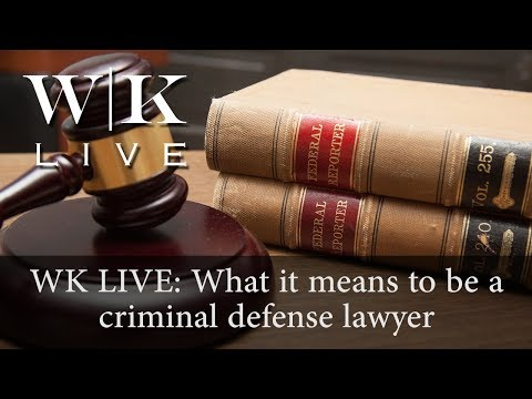 How important is the role of a criminal defense lawyer?
