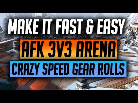 RAID | AUTO your 3v3 Battles and Roll gear CRAZY FAST!